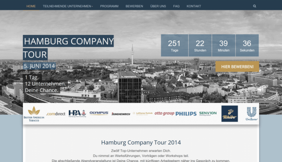 Hamburg Company Tour