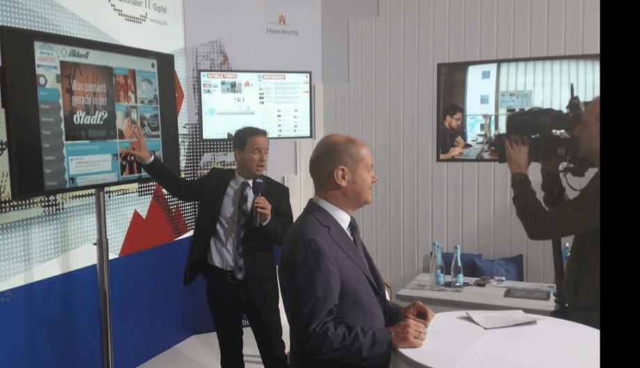 Exponat für den 8. nationalen IT-Gipfel